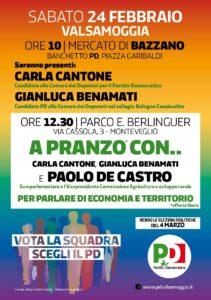 Economia e territorio con Paolo De Castro @ Parco Enrico Berlinguer - via Cassola 3   Monteveglio   Emilia-Romagna   Italia