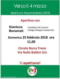 Aperitivo al circolo Barca Treno @ Circolo Barca Treno   Bologna   Emilia-Romagna   Italia